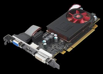 AMD ATI Radeon HD 5570 graphics card
