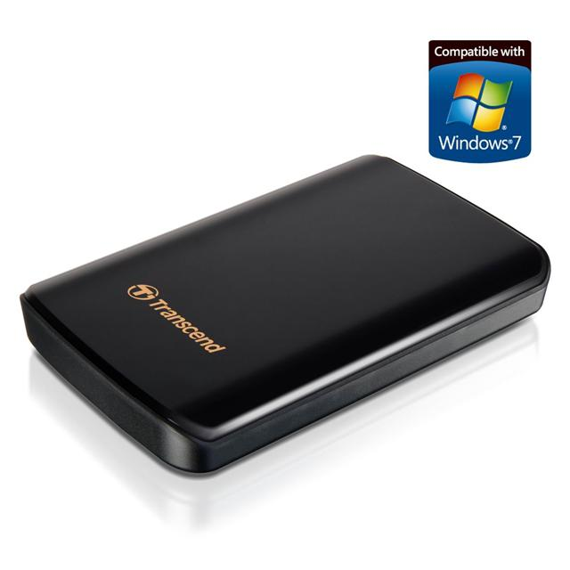 Transcend USB 3.0 portable hard drive