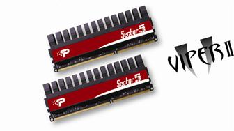Patriot 2500MHz DDR3 modules for Intel P55