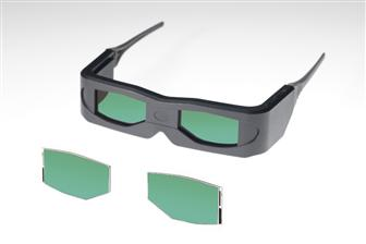 TMD OCB LCD panel for 3D glasses
