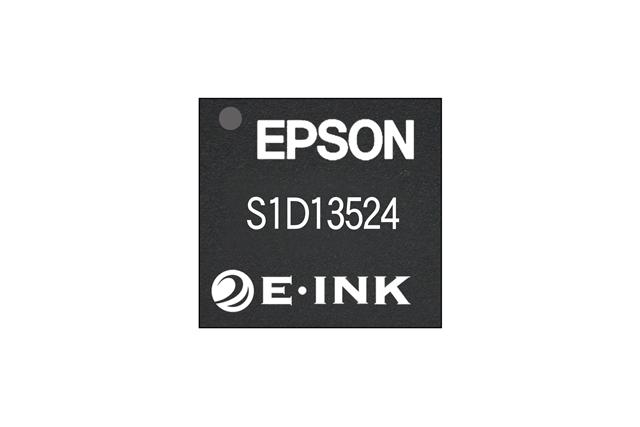 Color EPD controller co-developed by Seiko Epson and E-Ink