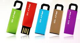 Computex 2010: PNY Clip-on Attache USB drives
