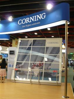 Display Taiwan 2010: Corning 10G glass substrate