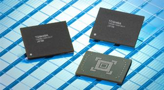 Toshiba 128GB embedded NAND flash modules