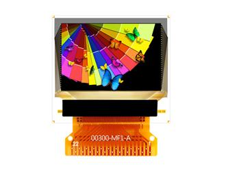OSD's 0.95-inch PMOLED display
