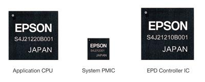 Seiko Epson controller platform for e-paper products