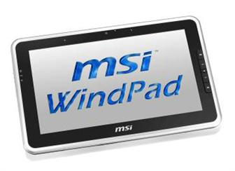 MSI WindPad 100W tablet PC