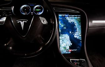 CES 2011: Nvidia Tegra-based Tesla 17-inch infotainment system