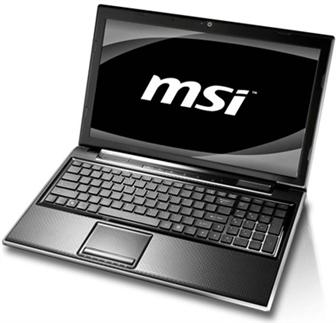 CES 2011: MSI F series notebook