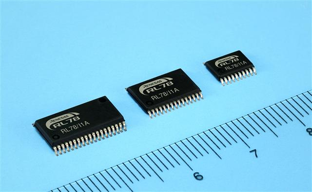 Renesas 16-bit MCU for LED lighting fixtures