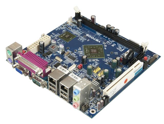 VIA VB7009 embedded Mini-ITX motherboard