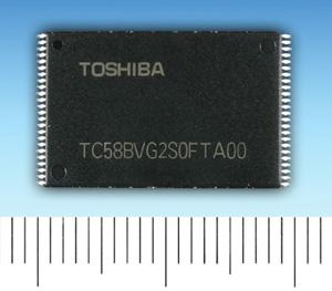 Toshiba Benand SLC NAND flash
