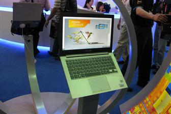 Intel showcases ultrabooks from different brands
