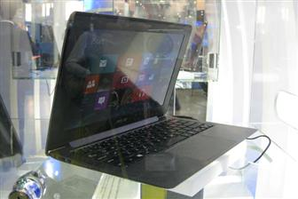 Asustek exhibits ultrabooks that run on Windows 8 at Computex 2012