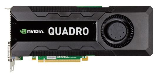 Nvidia Quadro K5000 graphics card