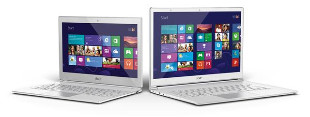 Acer Aspire S7 series ultrabooks