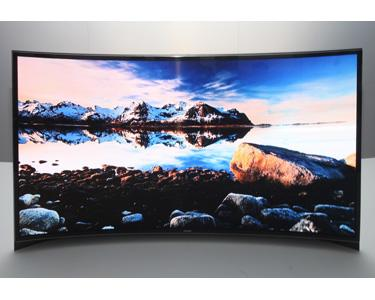 CES 2013: Samsung curved OLED TV