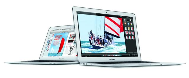 Apple MacBook Air with fouth-generation Intel processor