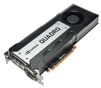 Nvidia Quadro K6000 graphics card