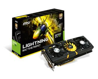 MSI GeForce GTX 780 Lightning graphics card