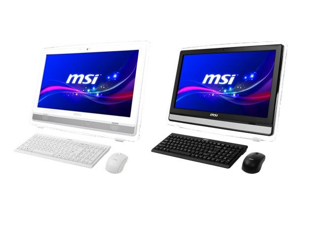 MSI AE220 touchscreen entertainment system