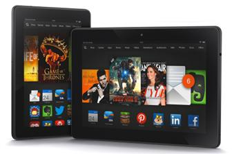 Amazon Kindle Fire HDX tablets