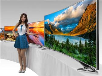 AUO Ultra HD curved panels