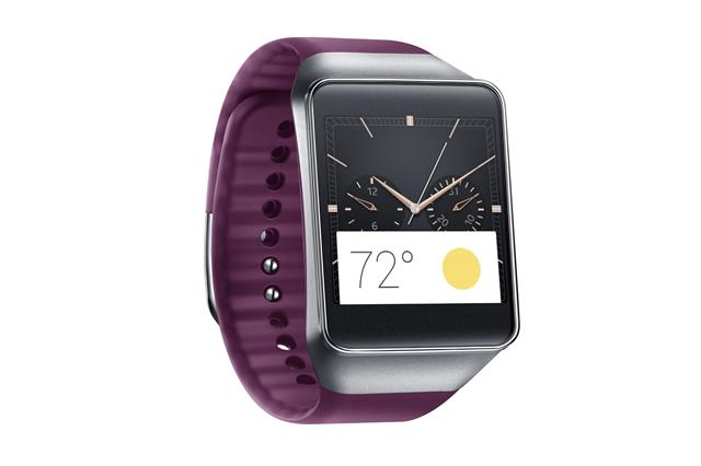 Samsung Gear Live smart watch with Android Wear