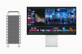 Apple Mac Pro workstation and Pro Display XDR monitor