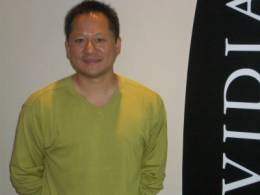 Nvidia president and CEO, Huang Jen-hsun
