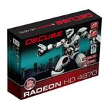 GeCube GC-AHD4670XTG3-E3 graphics card features ATI Radeon HD 4670 GPU