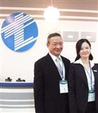 David Lin (left), chairman of Topoint