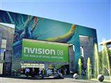 The entrance of Nvision 2008