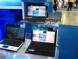 Intel is showcasing netbooks with its Moblin 2.0 system