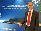 Mats Norin, vice president and head of mobile broadband module unit at Ericsson