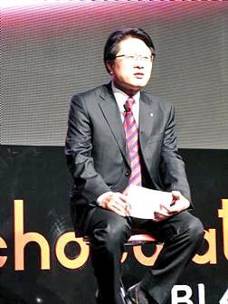Skott+Ahn%2C+president+and+CEO+of+LG+Electronics+Mobile+Communications