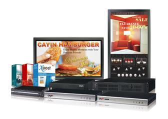 Cayin+digital+signage+products+