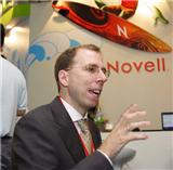 Markus Rex, senior vice president and general manager of the Novell Open Platform Solutions