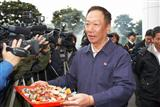 Foxconn chairman Terry Gou is aggressive in entering retail business