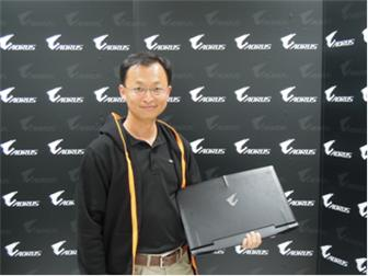 Vincent+Liu%2C+Gigabyte+director+of+sales+division