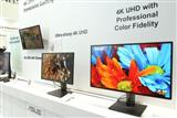 Ultra HD monitors on display at Computex 2014