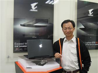Vincent+Liu%2C+Gigabyte+director+of+sales
