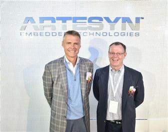 Jay+Geldmacher%2C+CEO+of+Artesyn+and+Stephen+Dow%2C+chairman+of+Artesyn