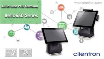 Clientron+introduced+its+touch+POS+terminal+Bello650+for+retail+and+hospitality+solution