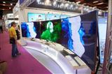 Curved-surface LCD TVs