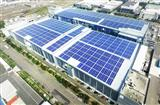Rooftop PV system at AUO factory in the Tainan Technology Park