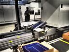 A PERC solar cell production line