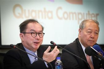 Quanta+chairman+Barry+Lam+%28left%29