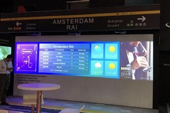 Multi-screen display solutions highlighted by Coretronic at ISE 2018