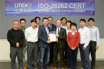 Lite-On Tech receives ISO 26262 certification